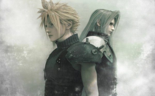 Cloud Strife et Sephiroth