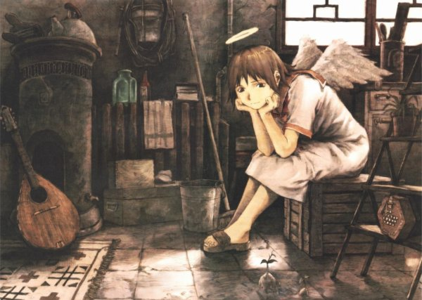 Haibane Renmei (Ailes Grises)