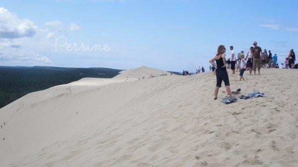 Dune de Pyla.-  Série de photos.