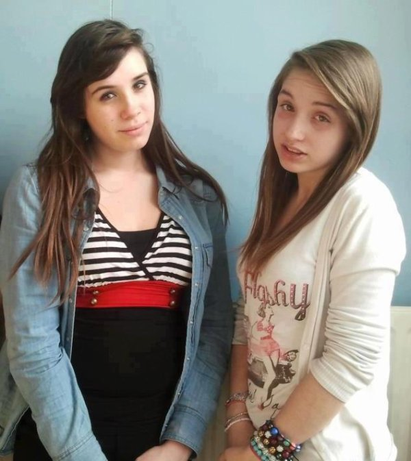 -Ma* meilleure-amie & moi..! #Tu m'manques Doudou. :3#