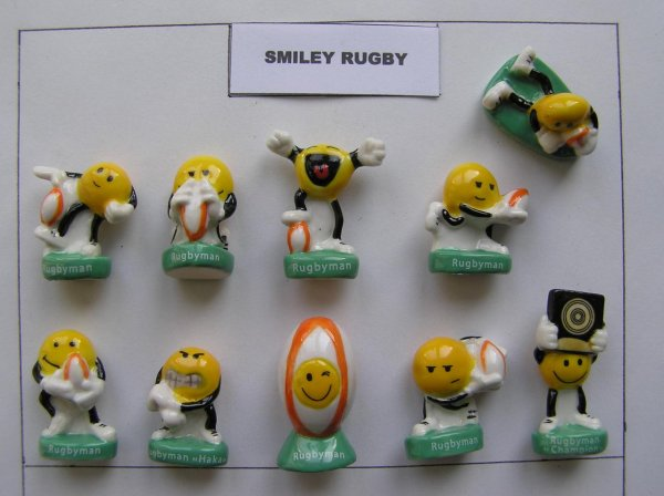 serie 2270 : smiley rugbyman 2017