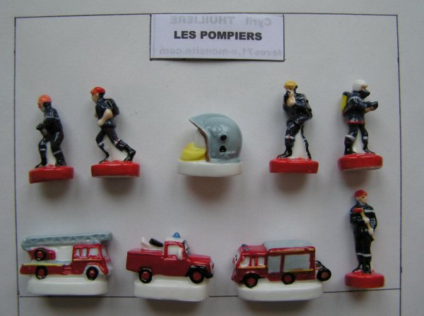serie 2273 : pompiers 2017
