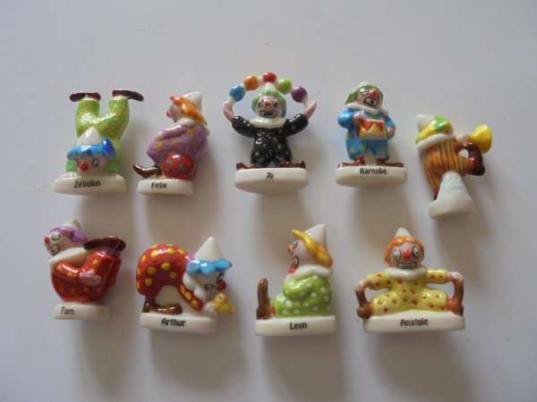 serie 2377 : les clowns en fete 2003