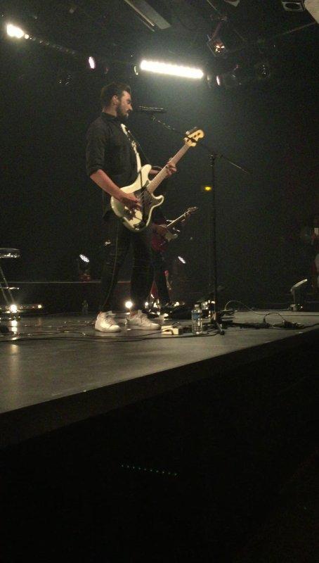 Concert Florent Mothe - L'européen à Paris - 30 novembre 2016