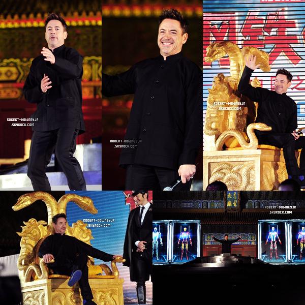 | Promo | Robert à Séoul et Pékin.