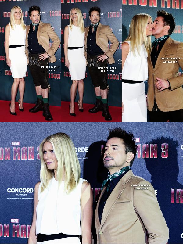 | Promo | Robert et Gwyneth Paltrow en conférence de presse (Munich)
