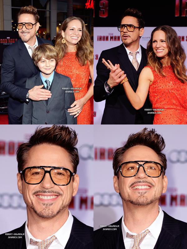 | Promo | Première mondiale Iron  Man 3 (LA)