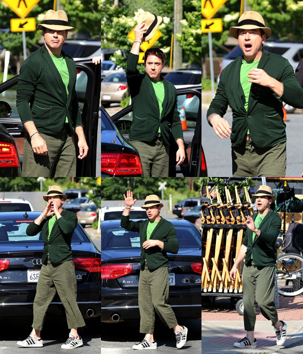 | Candids - 19.06 : RDJ arrive sur le set de The Judge + informations diverses