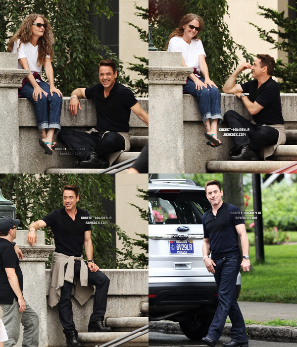 | Tournage - 11.07 : The Judge (Dedham)