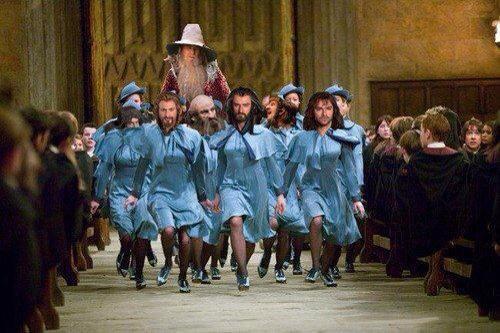Bref ...La compagnie s'est convertie au Travelo ' ainsi que Gandalf