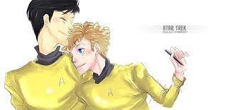 Chekov s'est trouvé une nouvelle proie ... Hikaru Sulu