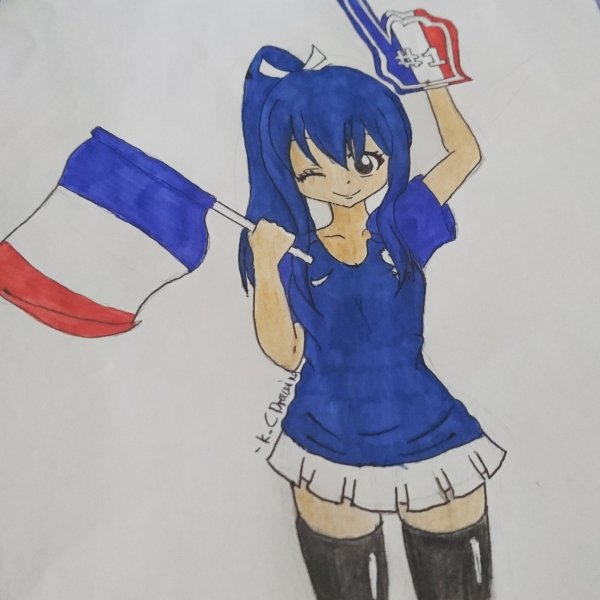 Fan-art Wendy Marvell Euro 2016