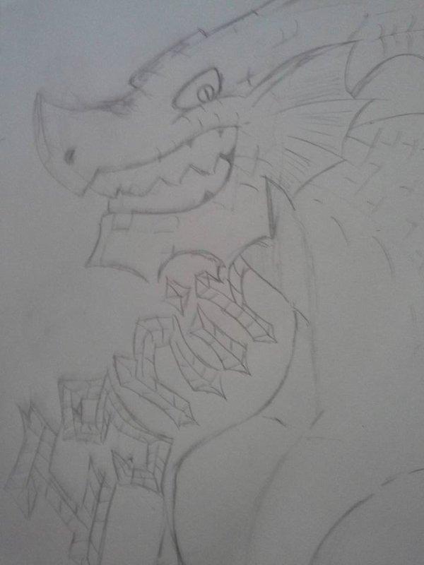 Ignir, le roi des dragons de feu