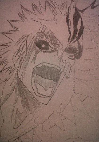 BLEACH HOLLOW ICHIGO!!!!!