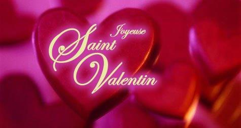 bonne fête de St Valentin à tout les amoureux.... kisous