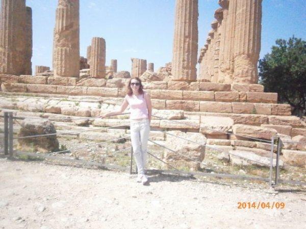 la vallée des temples à Agrigento