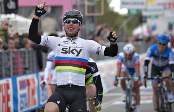 Cyclisme - Tour d'Italie (2ème étape)