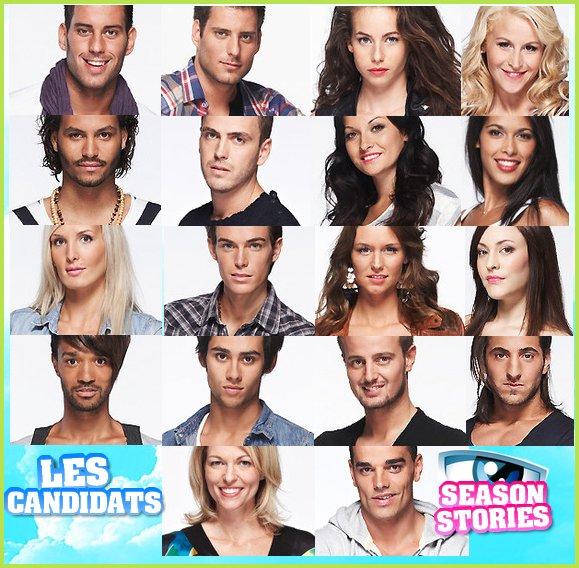 Les candidats et les secrets :