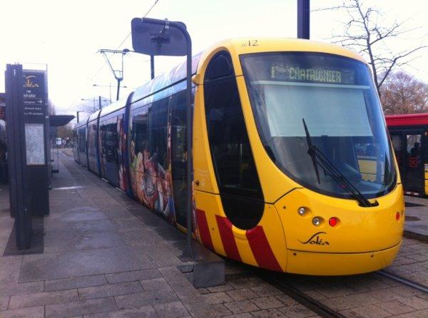 Rame du tramway de Mulhouse
