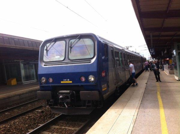 Z11518 en attente de son départ