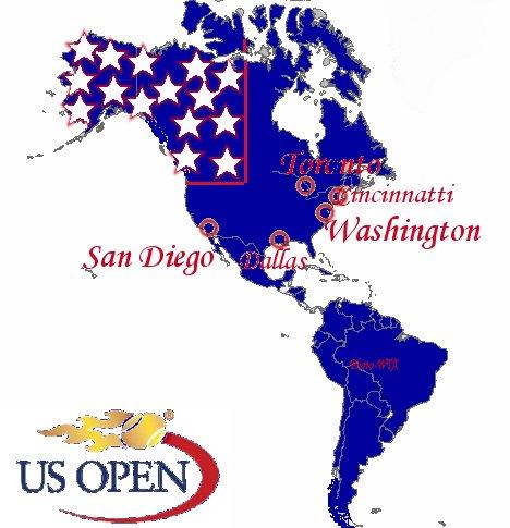 Résultats de la tournée Américaine 2012