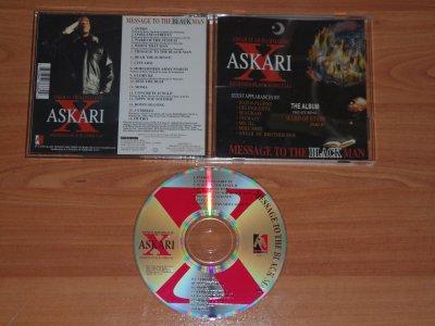 ASKARI X - MESSAGE TO THE BLACKMAN - 1995 - OAKLAND / CA