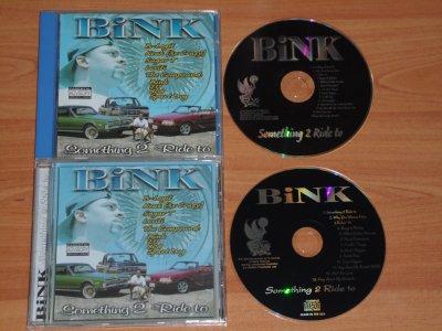 BINK - SOMETHING 2 RIDE TO - 1999 - VALLEJO / CA