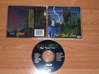 BLACK RHINO - POINT BLANK GAME - 1995/96 - STOCKTON / CA