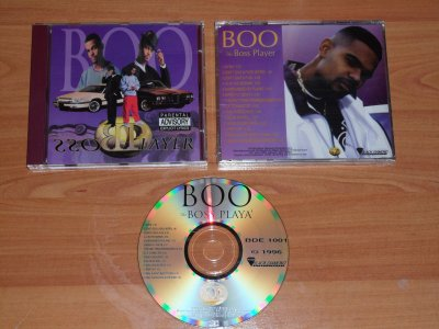 BOO - THE  BOSS PLAYER - 1996 - JACKSON / MS