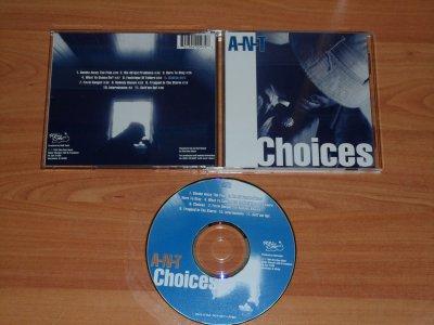 """A-N-T  """"choices"""" - 1997 - TUSCALOOSA / AL"""
