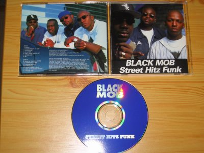 BLACK MOB - STREET HITZ FUNK - 1995 - CHICAGO / IL