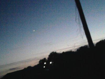 Cette étoile . Est - ce un signe de toi mon ange ?