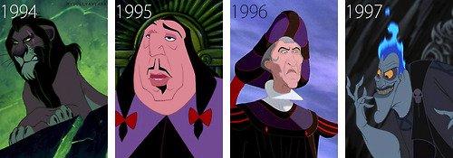 Les anciens méchants