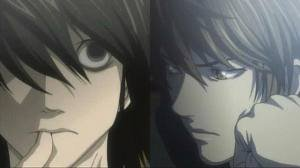 L et Light DEATH NOTE