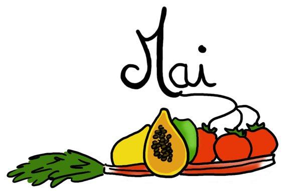31 fruits et légumes pour le mois de mai !!!