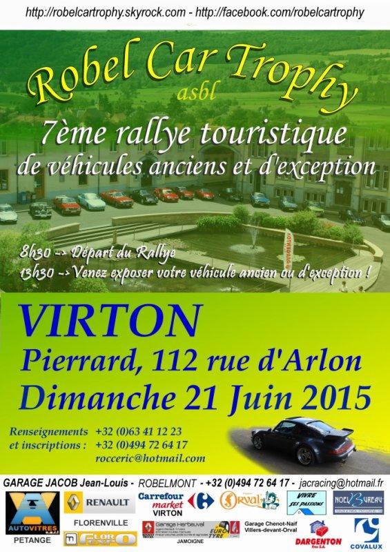 Notre rallye le 21 juin 2015