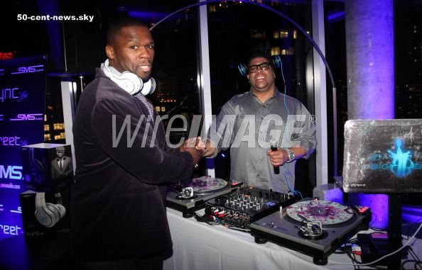 50 Cent Celebrates The Launch Of SMS Audio + Pub
