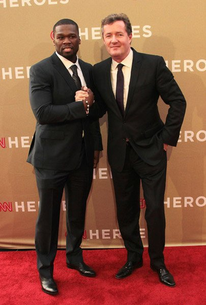 50 CENT SALUTES 'CNN HEROES' AT ALL-STAR