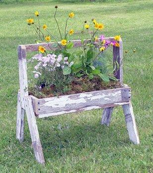 Toutes sortes de pots de fleurs