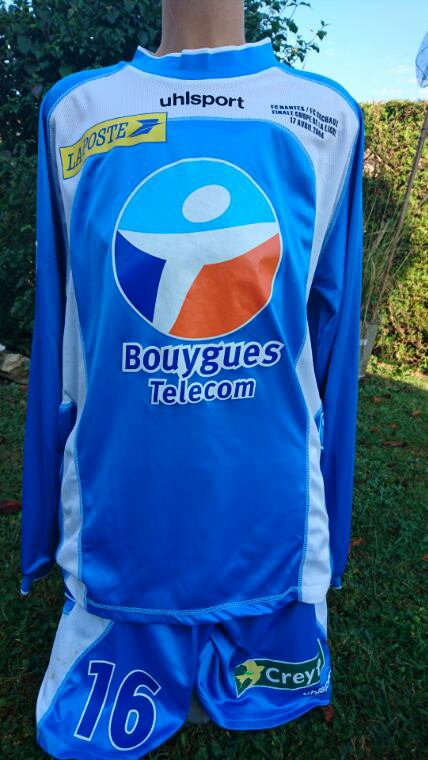 maillot de teddy. final cdl 2003 2004
