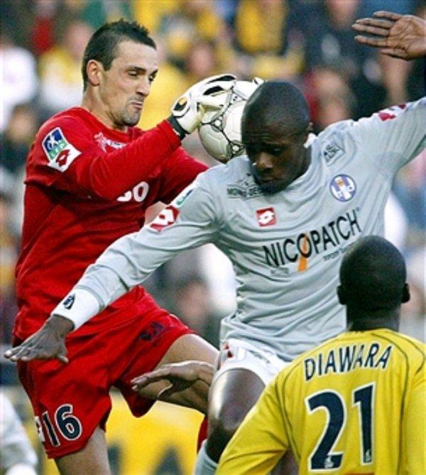maillot de teddy vs Nantes championat  2004 2005