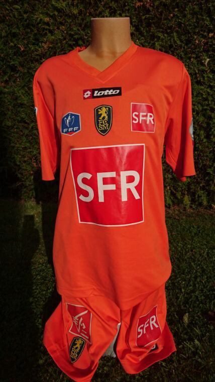 maillot de teddy 2009 2010 vs lemans en cdf