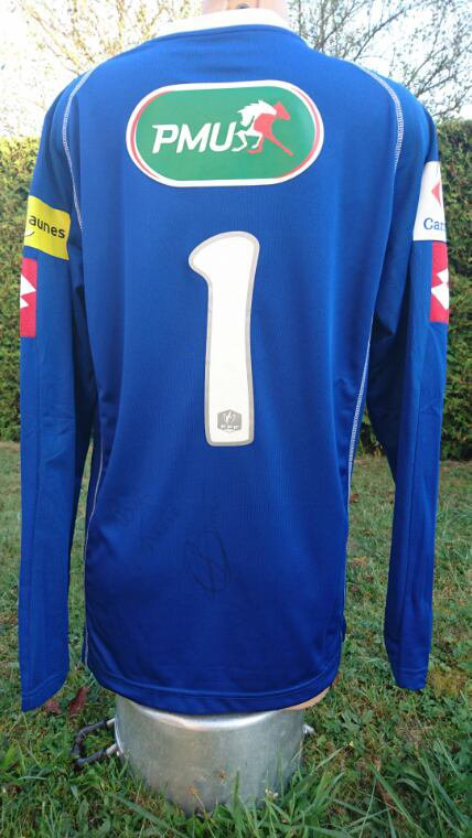 maillot de pierrick a chamberry en cdf 2010 2011