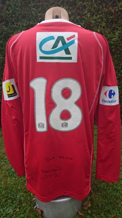 maillot pape camara a Bastia en cdf 2011 2012