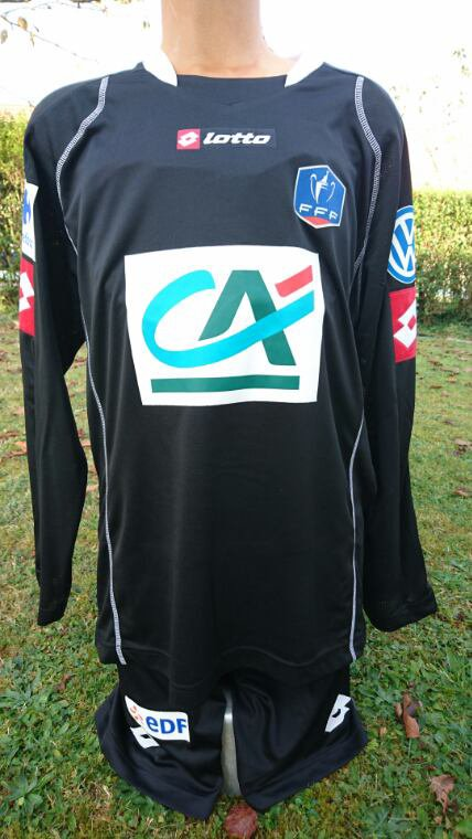maillot gardien vs strasbourg cdf 2015 2016