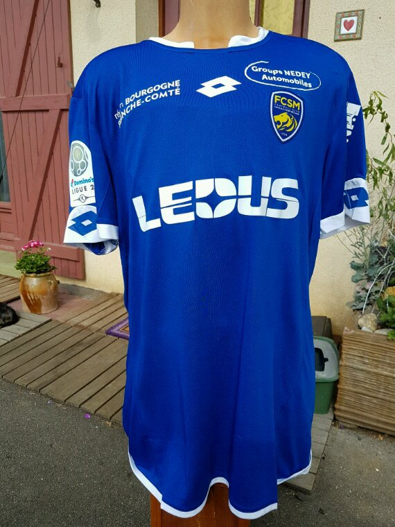 Maillot olivier a Clermont championat 2016 2017
