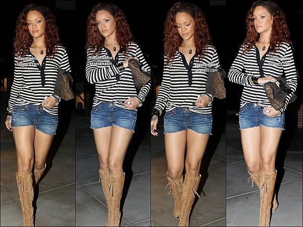 * 28/07/2011':' Rihanna a été faire du shopping à Beverly Hills  avec ses cheveux ... bruns ! Alors, simple passade avant de retrouver son rouge flamboyant ou bien changement définitif ? Toi, que préfererais-tu ? *