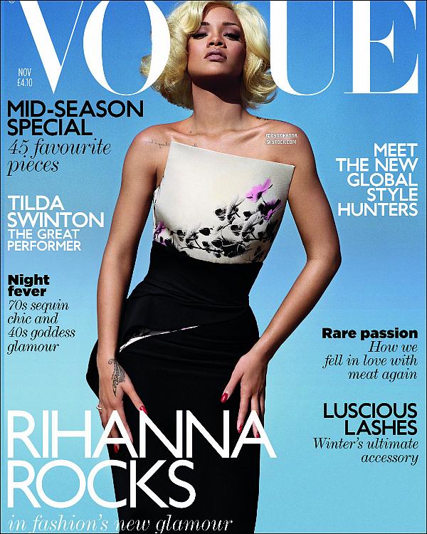 .  *Cover* '-'  Découvrez des scans du magazine « Vogue » britannique. Tu aimes ? .