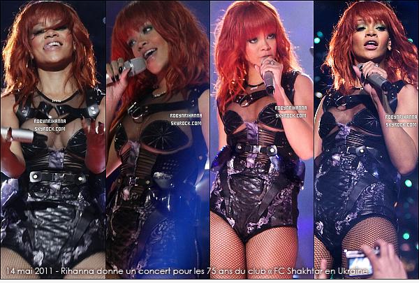 . RIHANNA ET SES PERFORMANCES EN 2011 ( PARTIE 2 ) ...  Elle a donné beaucoup de concerts cette année. Promotion, festival, tournée.. Quels sont tes lives préférés ? .