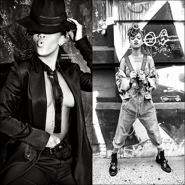 """. • Découvrez les magnifiques photos promotionnelles de l'album """"Talk That Talk"""" ! ."""